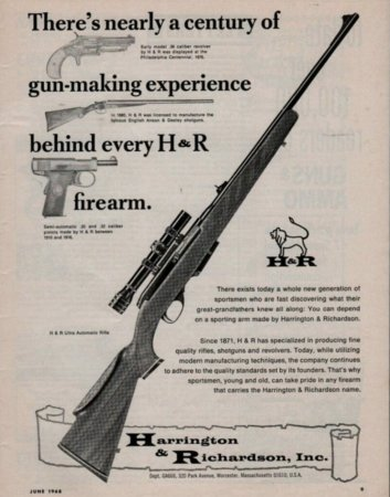 Harrington & Richardson Ultra Automatic Rifle