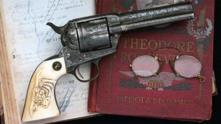 Теодор Рузвельт, Револьвер, Colt