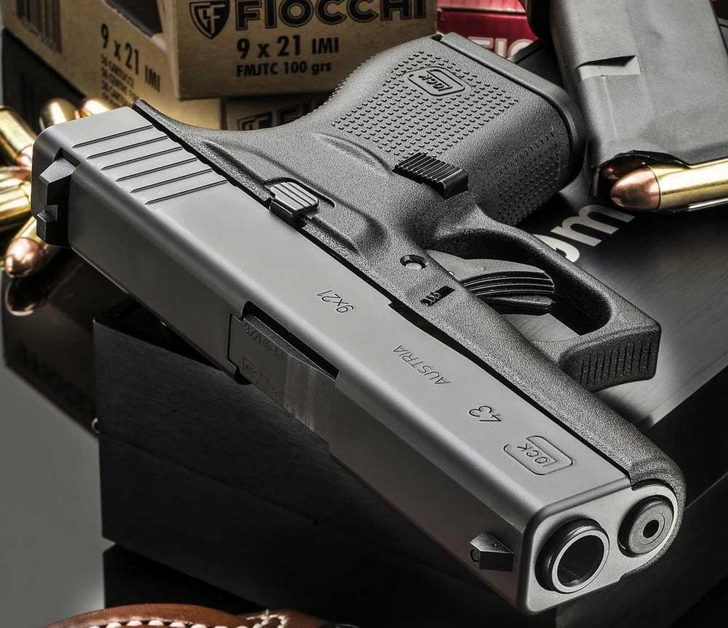 9х21, патрон, Glock 43
