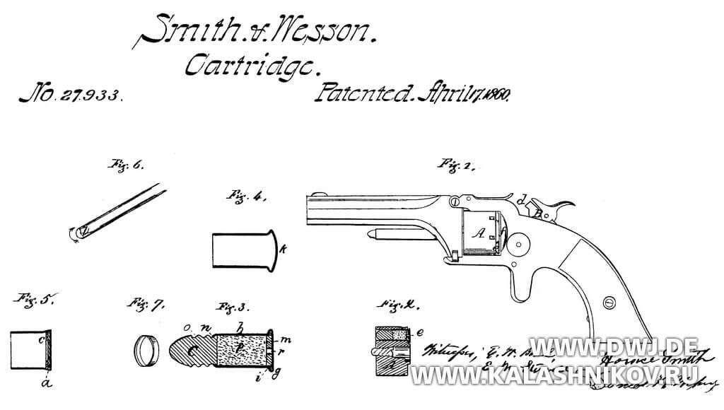 патент Smith & Wesson
