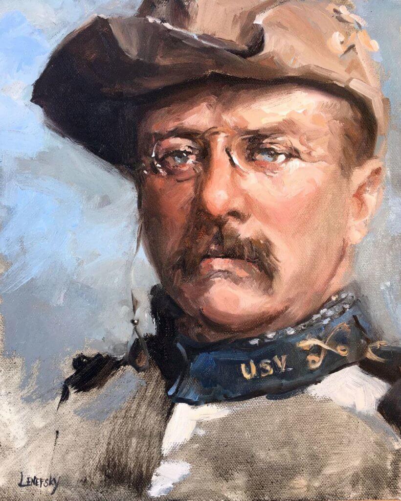 Теодор Рузвельт, президент сша