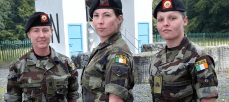 Солдаты Сил обороны Ирландии