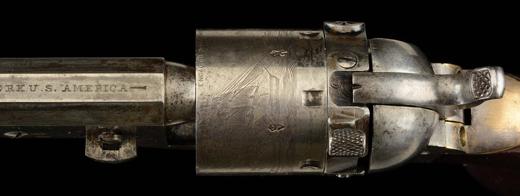 Colt 1851 Navy Thuer Conversion