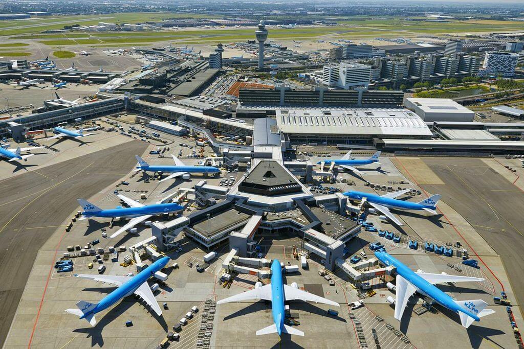 Амстердам, аэропорт