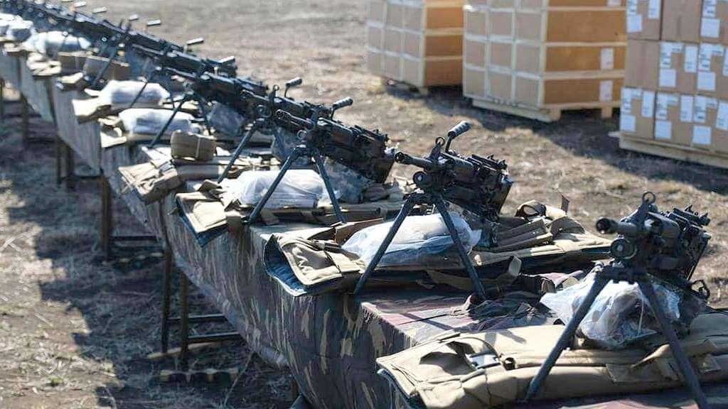 M249, Грузия, пулемёт
