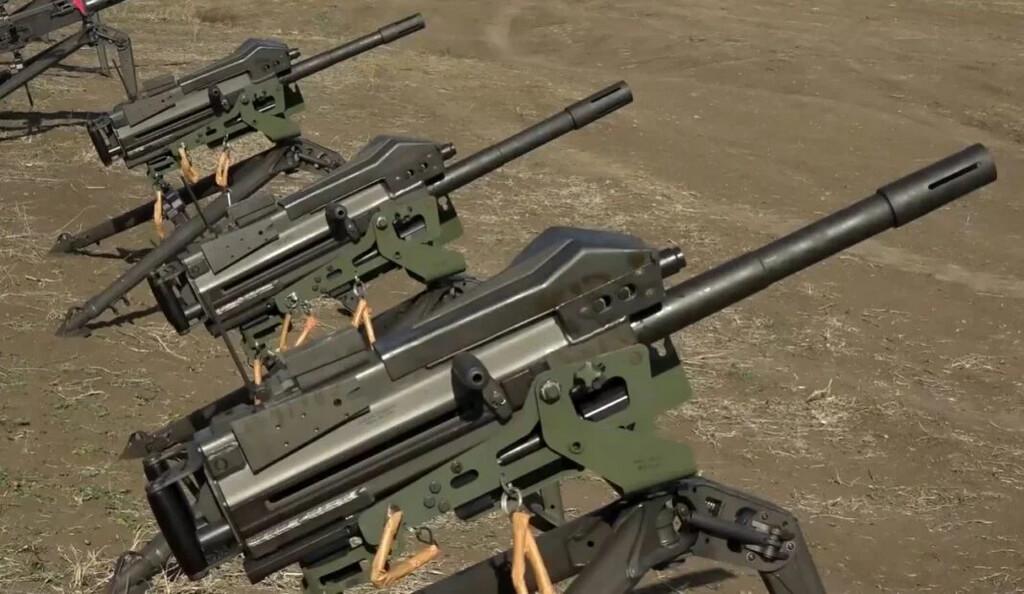 Mk 19, гранатомёт, Грузия