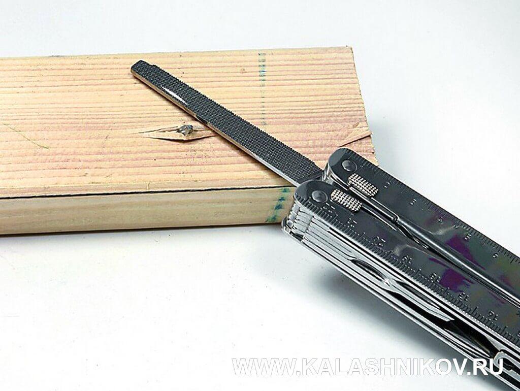 Victorinox Swiss Tool Plus, напильник