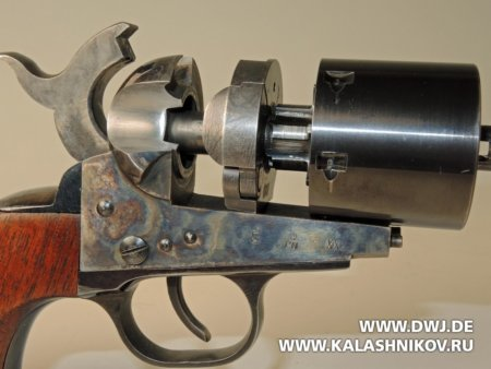 Colt 1861 Navy Kirst Conversion