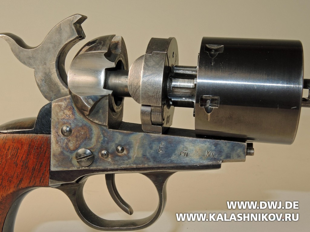 Colt 1861 Navy Kirst Conversion