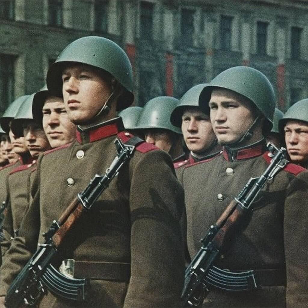 АК-47, парад, Красная Площадь