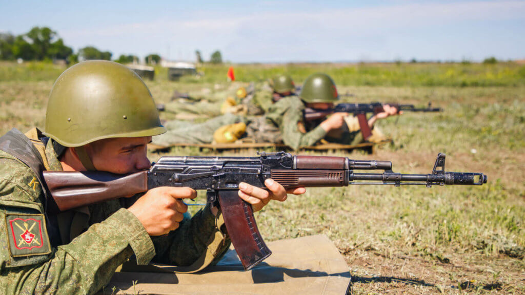 АК74, Советская армия