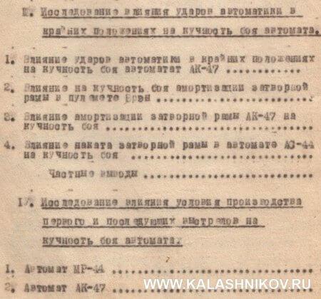 АК-47, история оружия