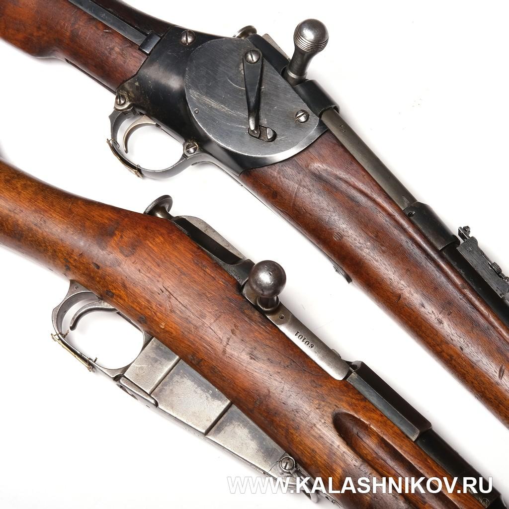 винтовка Мосина, 1891, 1885