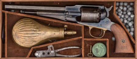 Remington M1958, револьвер
