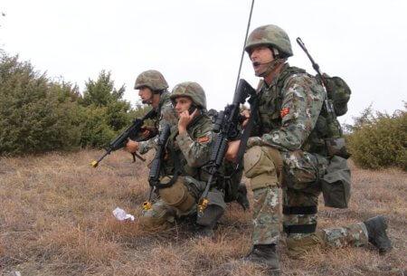 М4, македония, спецназ
