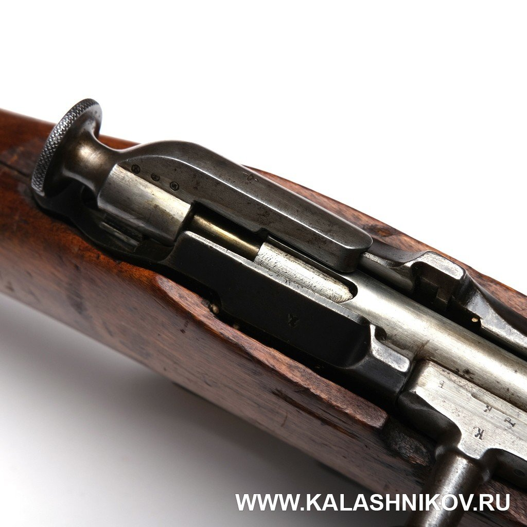 винтовка Мосина обр. 1891 г., предохранитель