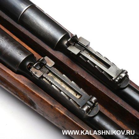 винтовка Мосина обр. 1891 г., Наган, прицел