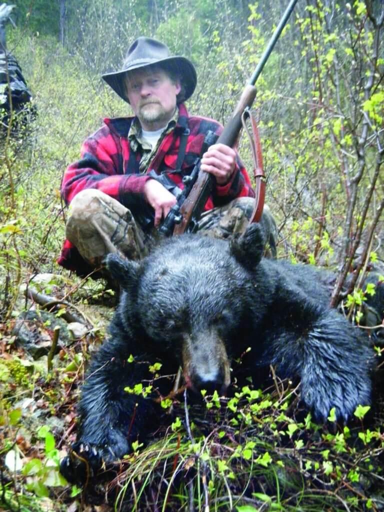 охота, медведь