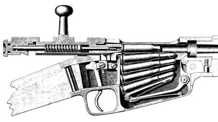 устройство винтовки Луи Додето