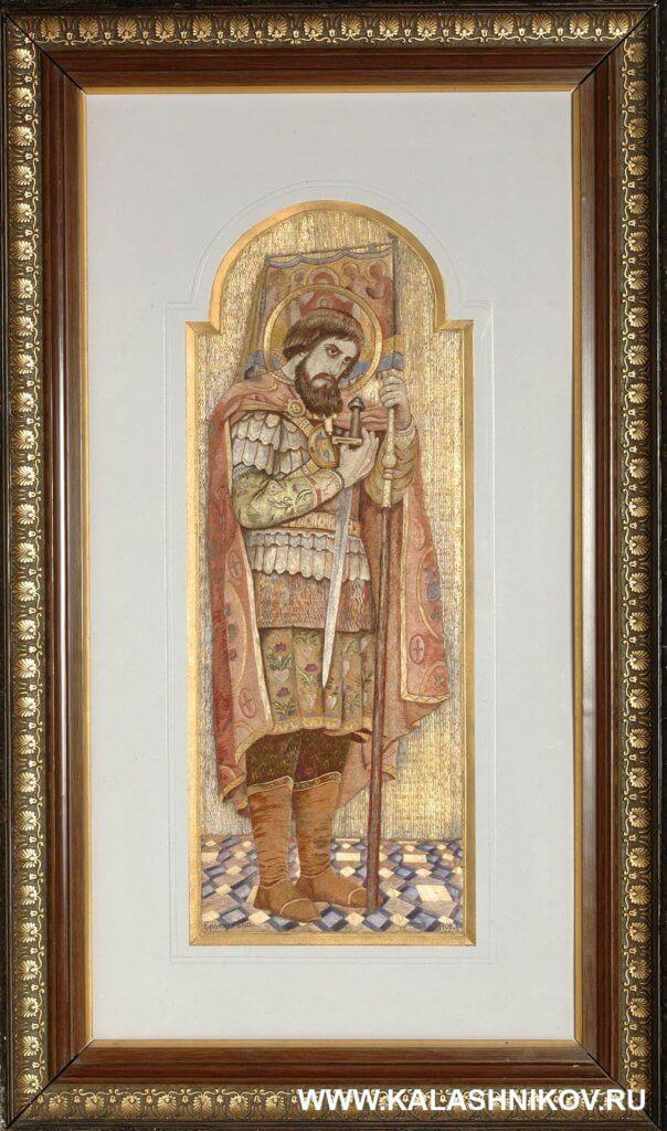 Воин и святой, выставка, ВИИИВиВС