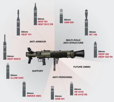 carl gustaf ammo