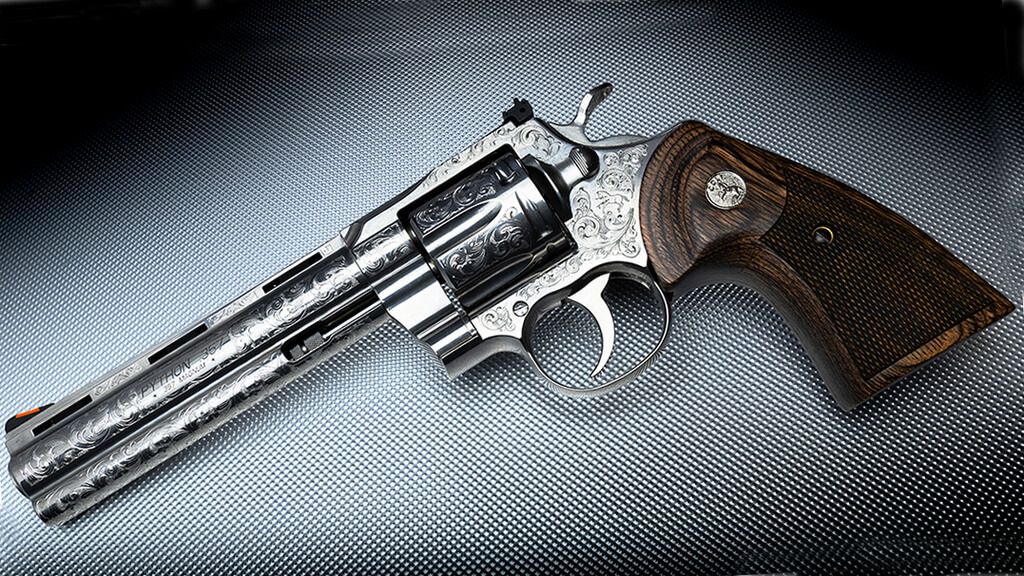 Davidson's Special Edition Engraved Colt Python