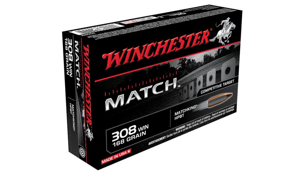 Winchester .308 Win. Sierra HPBT 168 gr